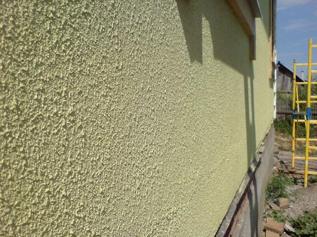 Своими руками декоративная штукатурка фасада дома